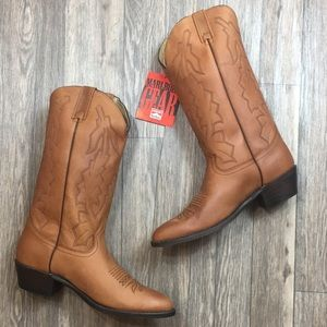 NWT Vintage Dan Post Marlboro Leather Boots 9EW